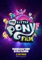 My Little Pony: De Film (NL) poster