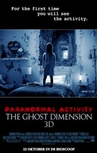 Paranormal Activity: The Ghost Dimension 3D poster