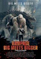 Rampage: Big Meets Bigger 3D poster