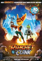 Ratchet and Clank 3D poster