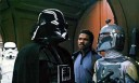 Boba Fett (rechts) met Darth Vader in 'Star Wars: Episode V: The Empire Strikes Back' (c) 1980