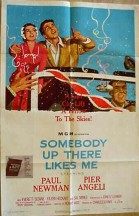 Somebody Up There Likes Me (1956) poster