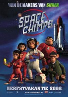 Space Chimps (NL) poster