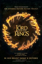 The Lord of the Rings: The Fellowship of the Ring (Extended) poster