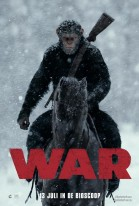 War for the Planet of the Apes 3D poster